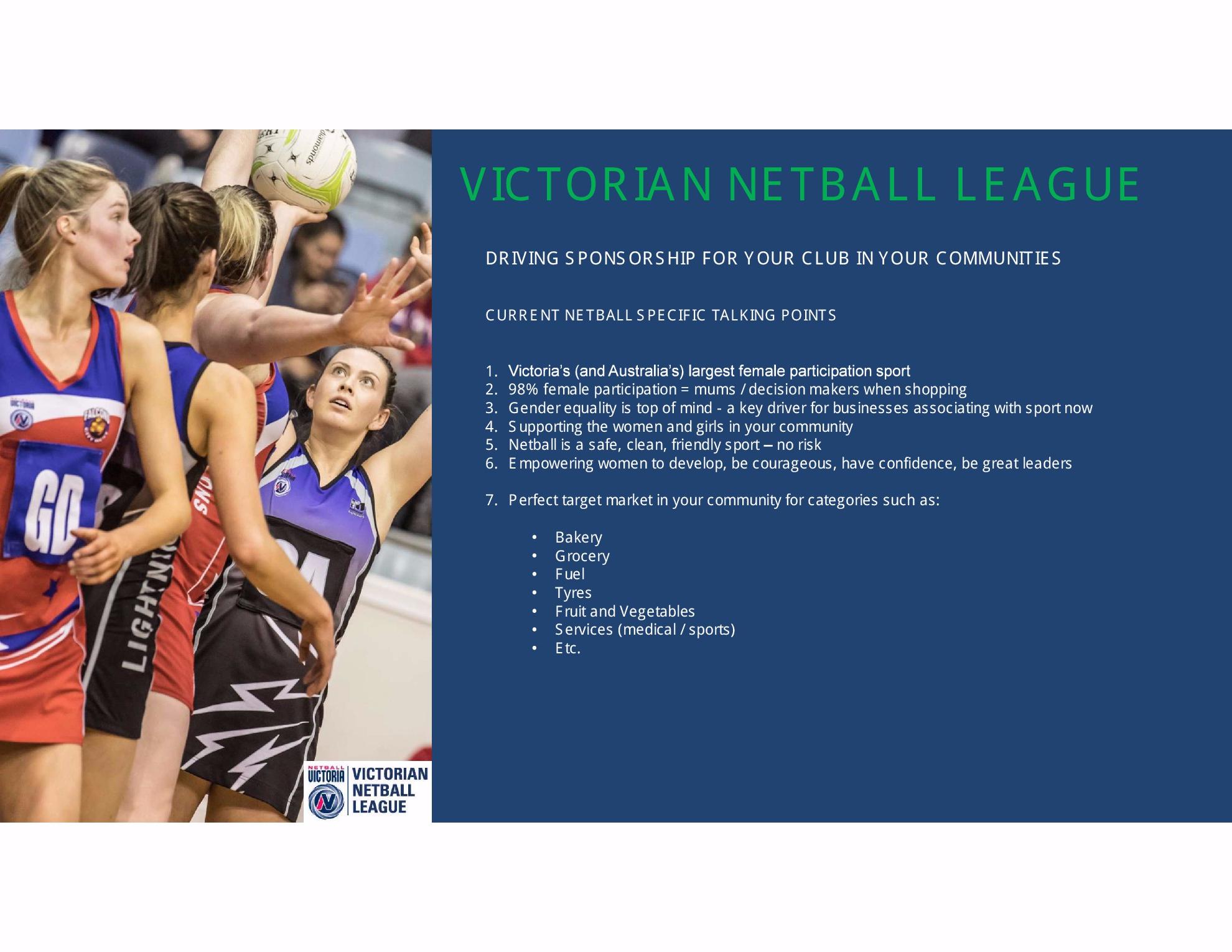 VNL sponsorship